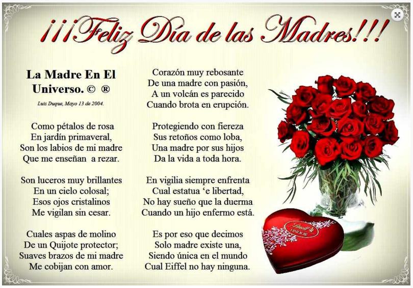 Tarjetas Con Frases Para El Día De La Madre 2016 My Portal B